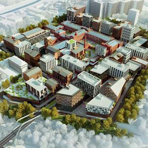 За 15 лет в рамках реновации столичных промзон построят более 21 млн кв. м жилья