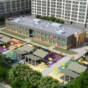 Пресс-релиз В жилом квартале «Наследие» утверждены архитектурные решения детского сада