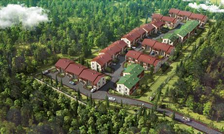 Коттеджный посёлок  «Bosco Villaggio (Боско Вилладжио, Лесная деревня)» по адресу Московская обл, Ногинский р-н, Боско Вилладжио кп в 16.8км от МКАД предложения по цене от 3 736 500 руб.