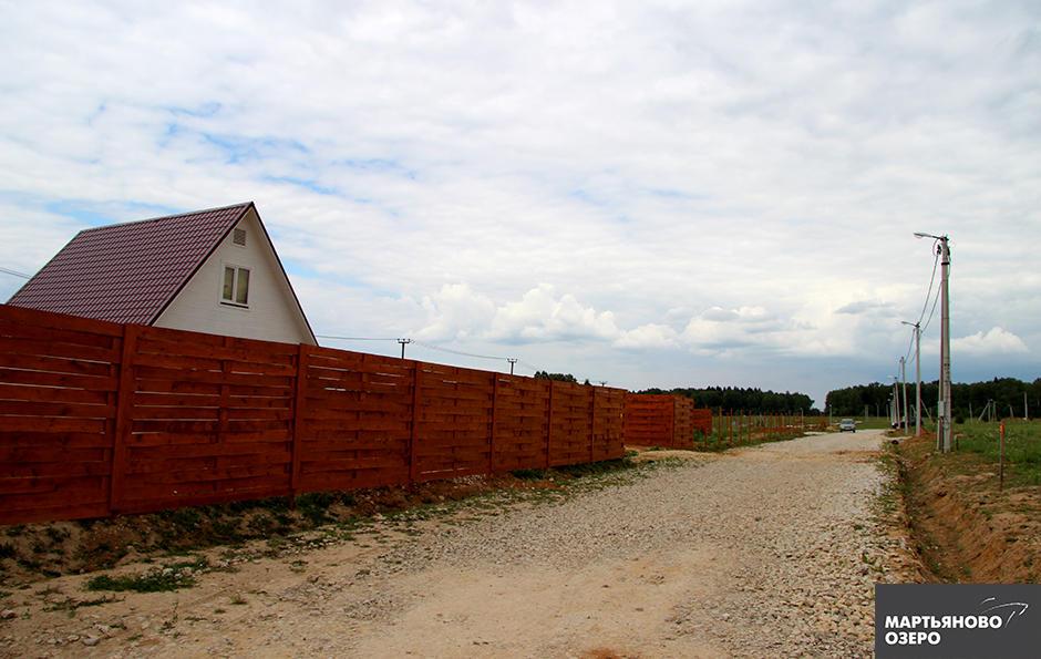 Коттеджный посёлок  «Мартьяново озеро» по адресу Московская обл, Серпуховский р-н, Мартьяново д предложения по цене от 957 000 руб.