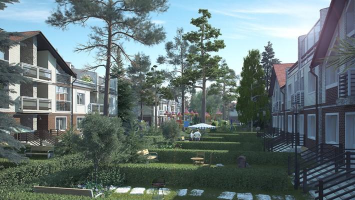 Жилой комплекс «Лесной городок