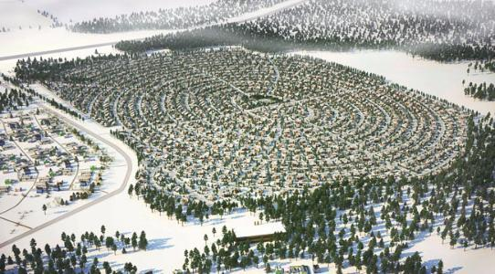Коттеджный посёлок  «Снежная долина» по адресу Московская обл, Чеховский р-н, Бавыкино д в 54.5км от МКАД