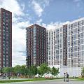 Идет устройство фундамента жилых корпусов в новом ЖК «Лесопарковый» от ГК «Инград»